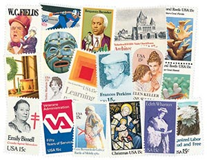 1980 Commemorative Stamp Year Set