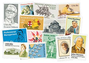 1981 Commemorative Stamp Year Set