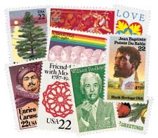 1987 Commemorative Stamp Year Set