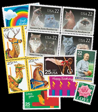 1988 Commemorative Stamp Year Set