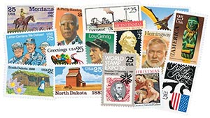 1989 Commemorative Stamp Year Set