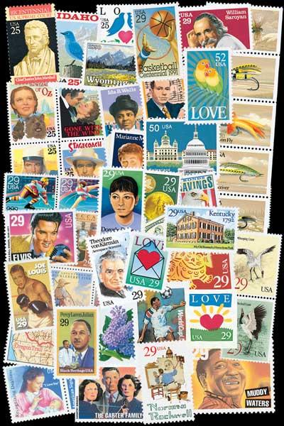 1990-94 US Commemoratives 384v