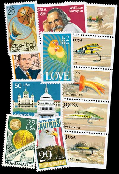 1991 Commemorative Stamp Year Set