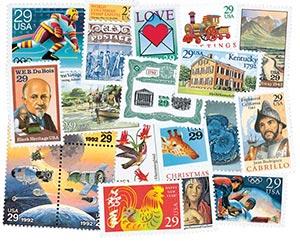1992 Commemorative Stamp Year Set