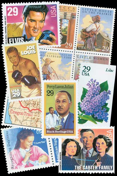 1993 Commemorative Stamp Year Set