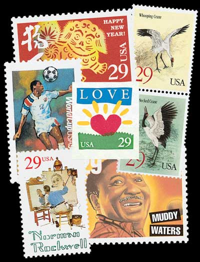 1994 Commemorative Stamp Year Set