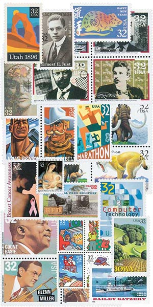 1996 Commemorative Stamp Year Set