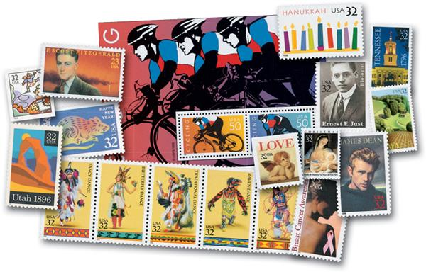1996 Complete Commemorative Year Sets, 99 Stamps