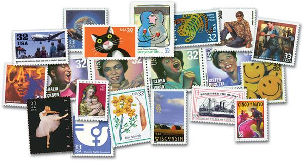 1998 Complete Commemorative Year Set - 244 Stamps
