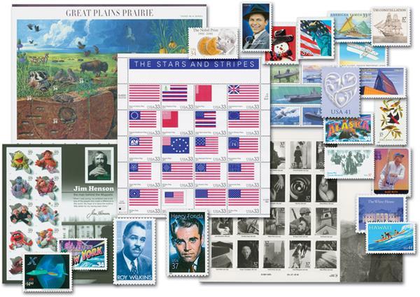 2000-09 Commplete Commemorative Decade Set