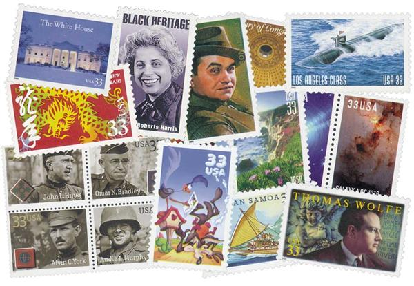 2000 Commemorative Stamp Year Set
