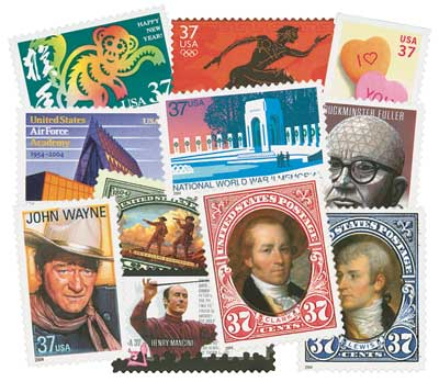 2004 Commemorative Stamp Year Set