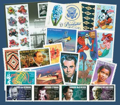 2005 Commemorative Stamp Year Set