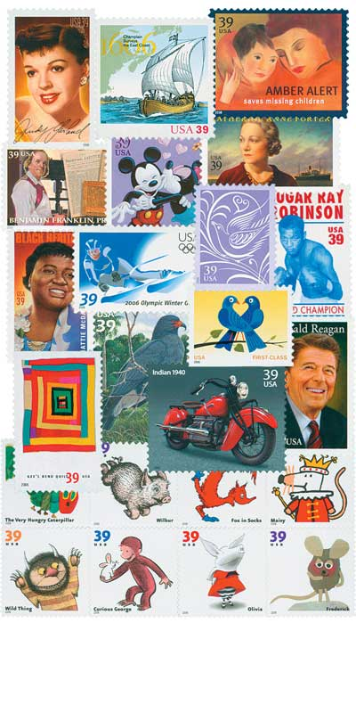 2006 Commemorative Stamp Year Set