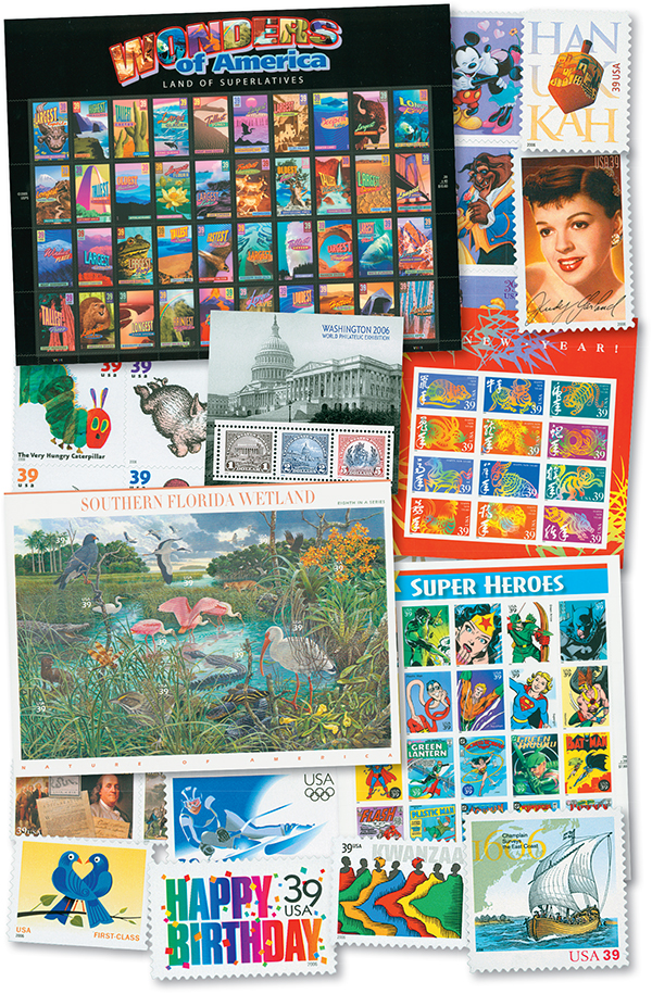 2006 Complete Commemorative Year Set, 159 stamps