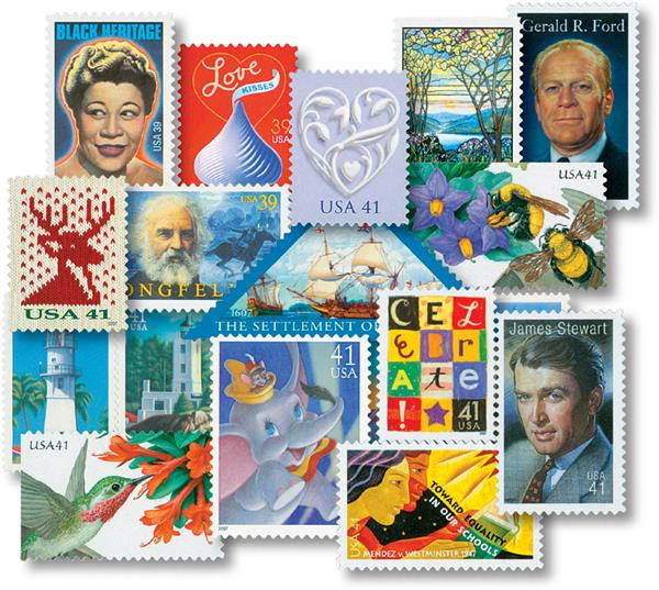 2007 Commemorative Stamp Year Set