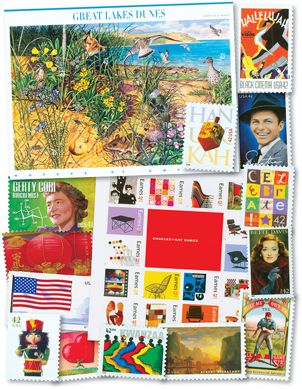2008 Complete Commemorative Year Set, 95 stamps