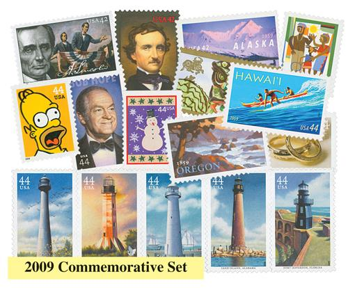 2009 Commemorative Stamp Year Set