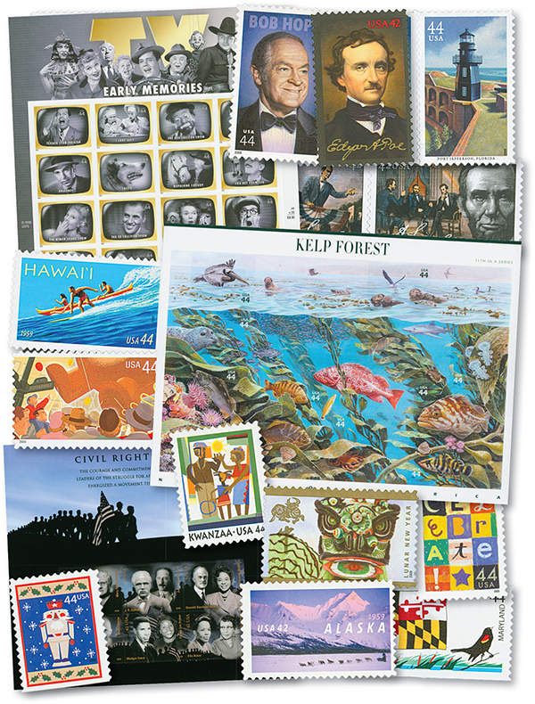 2009 Complete Commemorative Year Set, 94 stamps