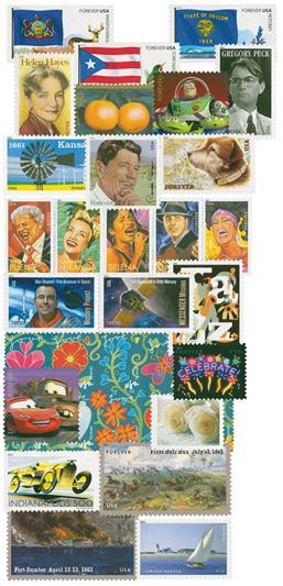 2011 Commemorative Stamp Year Set