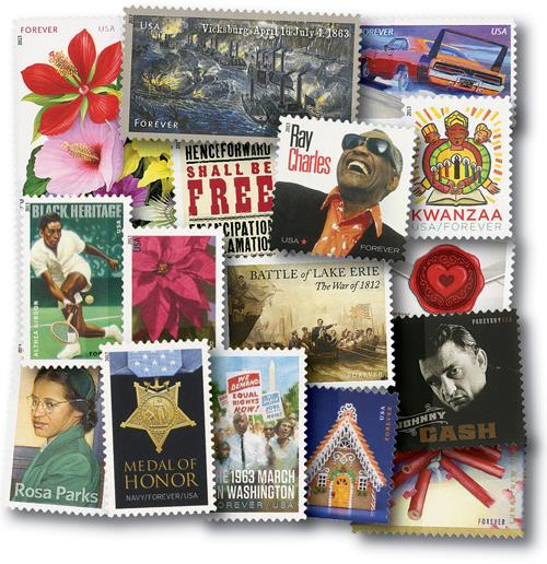 2013 Commemorative Stamp Year Set