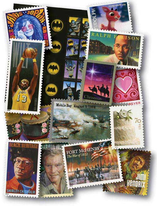 2014 Commemorative Stamp Year Set