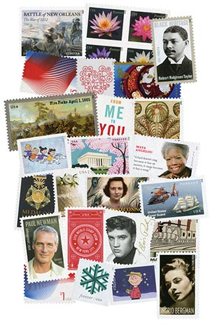 2015 Commemorative Stamp Year Set
