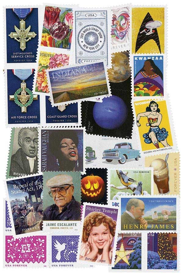 2016 Commemorative Stamp Year Set