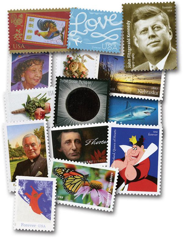 2017 Commemorative Stamp Year Set