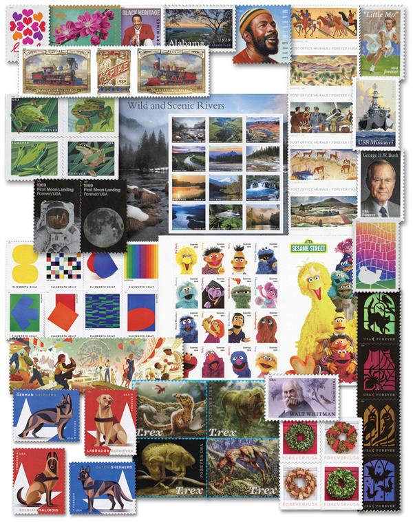 2019 Complete Commemorative Year Set