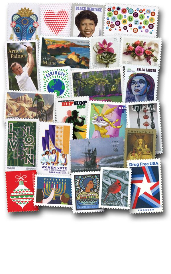 2020 Complete Commemorative Year Set - 77 Stamps