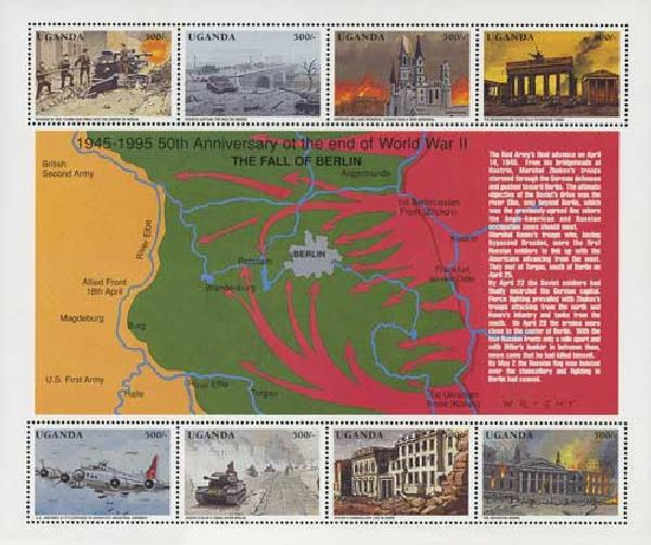 1995 Uganda WWII The Fall of Berlin