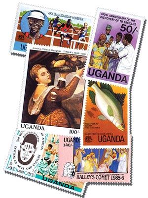 Uganda, 100v