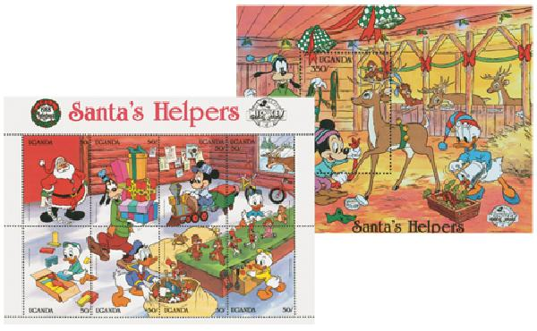"Uganda 1988 Christmas: ""Santas Helpers"""