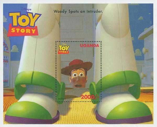 Uganda 1997 Woody spots an intruder, S/S