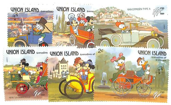 Union Islands 1989 Philexfrance