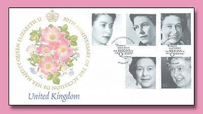 2002 UK Golden Jubilee FDC