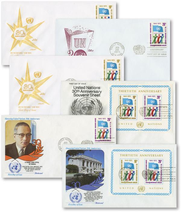 UN 30th Anniversary 1975/6