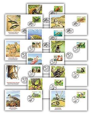 1998 Endangered Species Set of 12