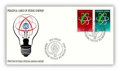 1977 0,80/1,10 Atomic Energy