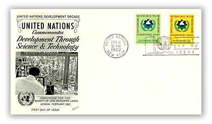 1963 5/11c Science and Technology Combo FDC