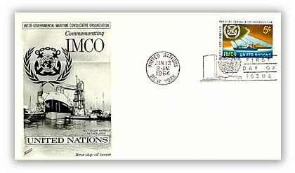 1964 5c Inter-Gvmntl Maritime Consultve Orgn
