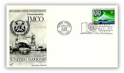 1964 11c Inter-Gvmntl Maritime Consultve Orgn