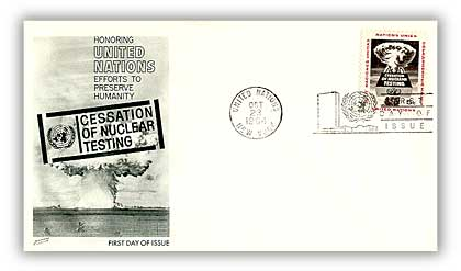 1964 5c Cessation of Nuclear Testing
