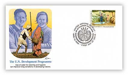 1986 22c UN Development Programme, Hygiene