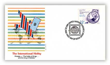 1986 22c Chicago Philately/Human Rights