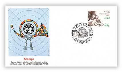 1986 44c New York Philately/Stamp Engraver