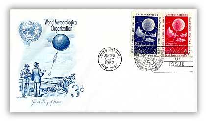 1957 3c/8c Meteorology