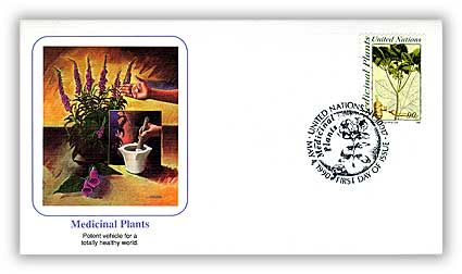 1990 90c Medicinal Plants First Day Cover