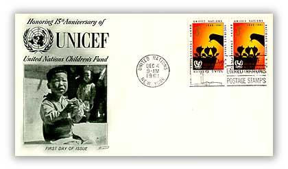 1961 3c U N I C E F